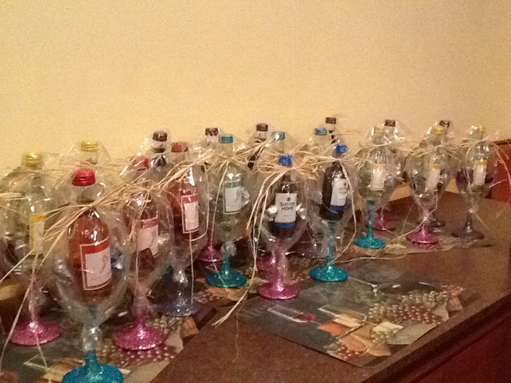 Favors From Sisters 60th Birthday Party.