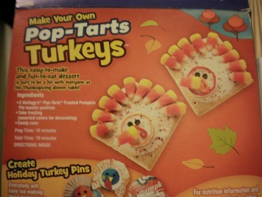 PopTart Turkeys for Thanksgiving Party?