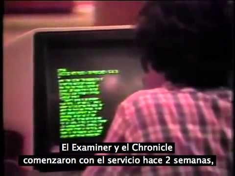Así es como veían en 1981 el futuro de las noticias por Internet