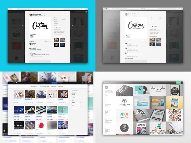 Free Safari Web Browser Photoshop Mockup Set