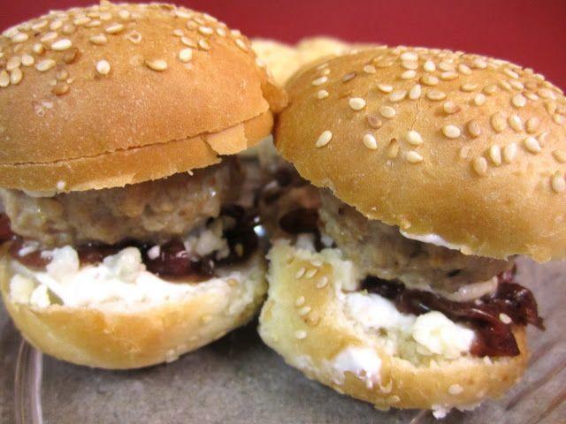 Gorgonzola sliders | food | Pinterest | Sliders, Burgers and Turkey ...