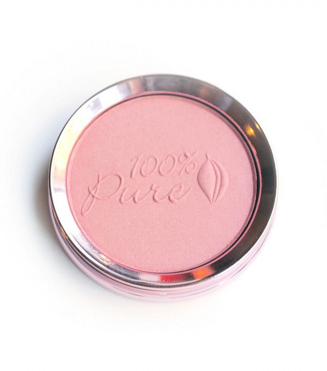 The Best Natural Beauty Products at the Drugstore, According to a Makeup Artist | Byrdie. 100% Pure Fruit Pigmented Blush ($35)