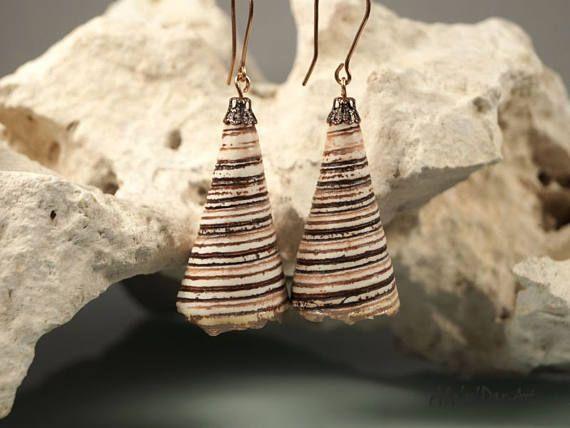 Polymer clay eariings polymer clay jewelry organic jewelry Ale'n'Dar-Art