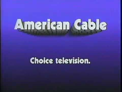 1984 - Commercial for American Cable / Indianapolis $10 a month for 30 channels. Aired in March 1984.