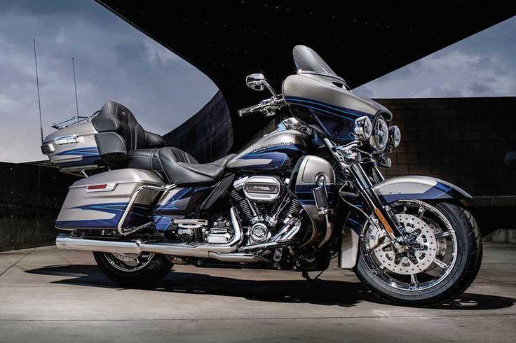 """Harley-Davidson: Neuer Motor """"Milwaukee-Eight""""  Zweirad Die CVO Limited ist das…"""