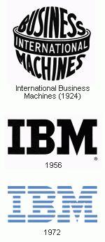 Paul Rand, IBM visual identity, 1956