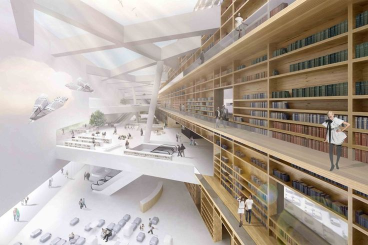 Helsinki Central Library Competition, AND-RÉ (Helsinki, Finland)
