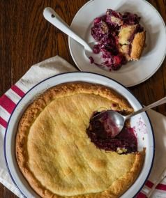 Treat your tastebuds to this tangy fruit pie.Tamarillo and Vanilla!