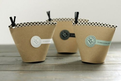 Fun gathering ★ Paper cup wrapping idea