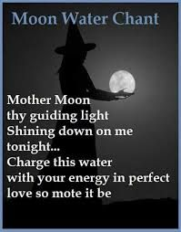 Moon water chant