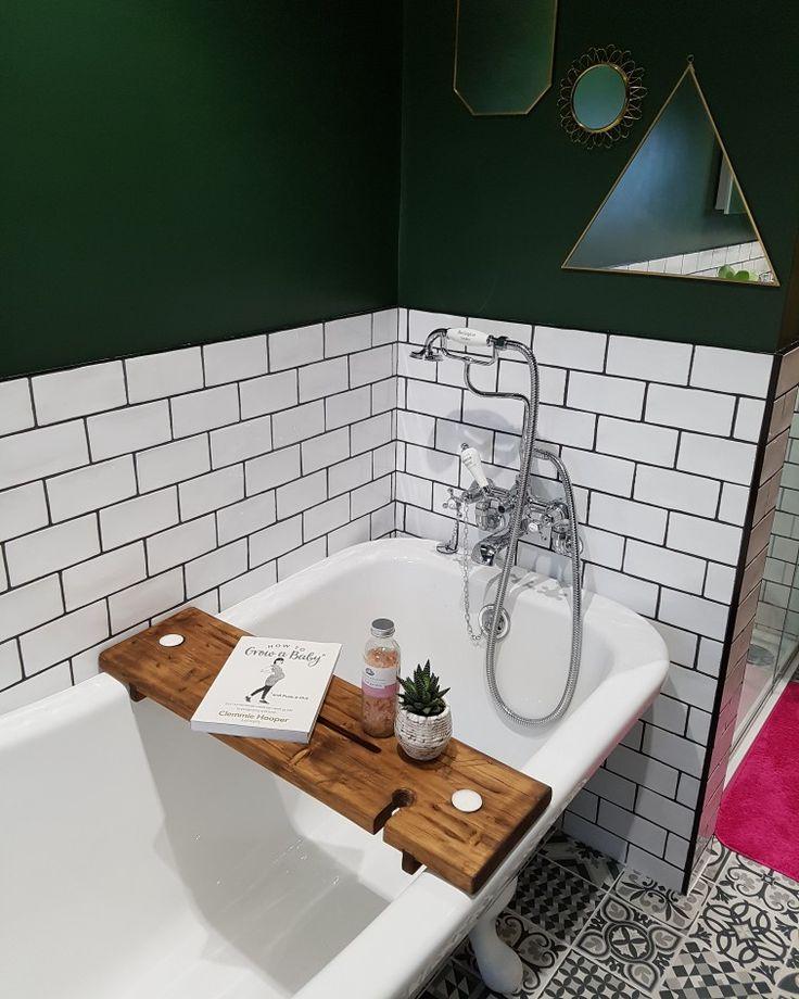 Bath tidy / book holder from haybeno and rolltop burlington bath