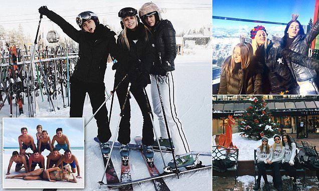Princess Olympia of Greece and Kyra Kennedy hit Aspen for New Year's
