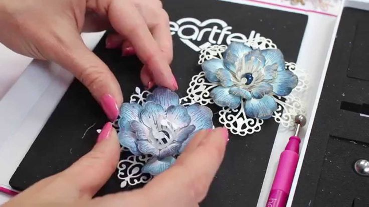 7 ways to create fab flowers with just one stamp and die