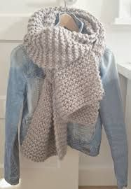 Afbeeldingsresultaat voor gebreide sjaal