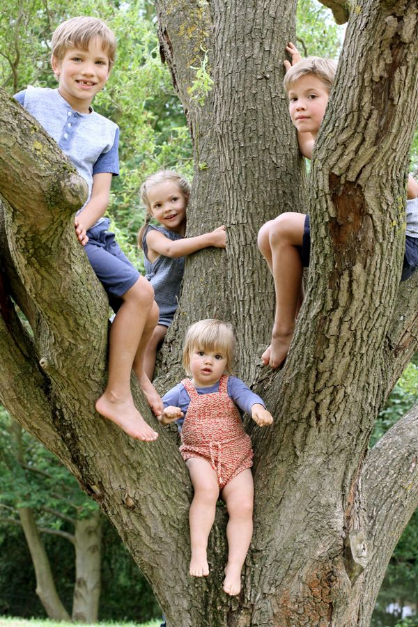 Four Kids In A Tree Emily Ulmer Photography