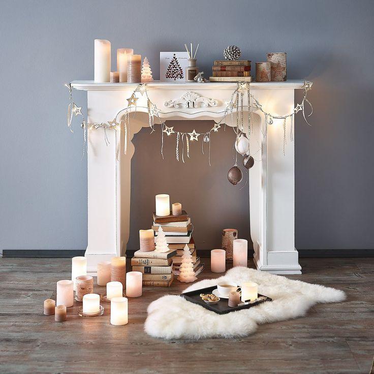 Die besten 25 weihnachten kamin ideen auf pinterest for Dekoration wohnung weihnachten