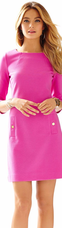 LILLY PULITZER CHARLENE KNIT SHIFT DRESS