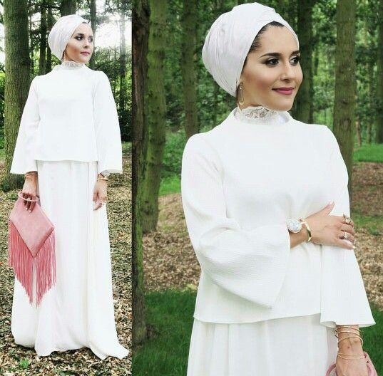 White Dress - Turban