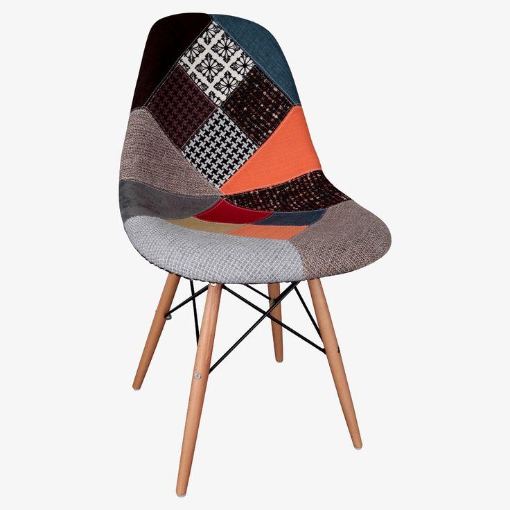 Eames Patchwork Kolsuz Sandalye