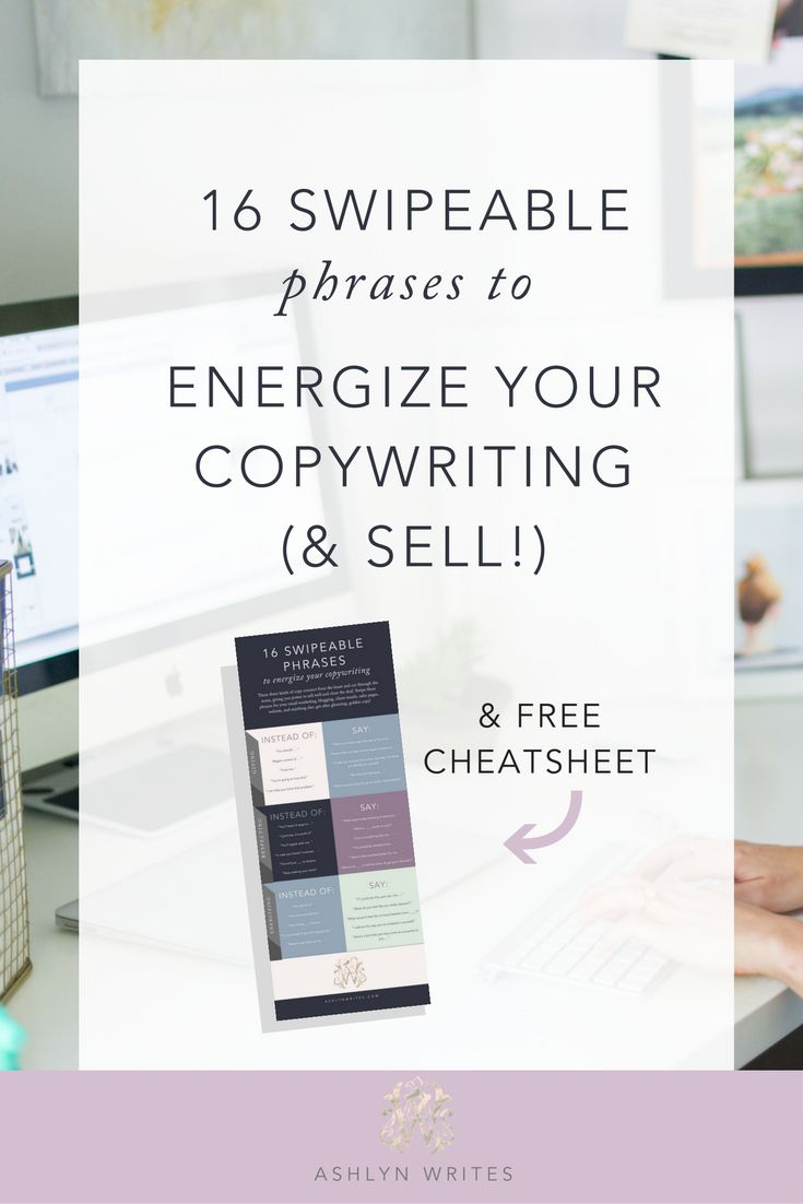 Copywriting Ideas for Your Creative Small Business -- pin now, read later!