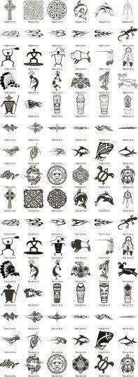 Sort of Tribal Symbols