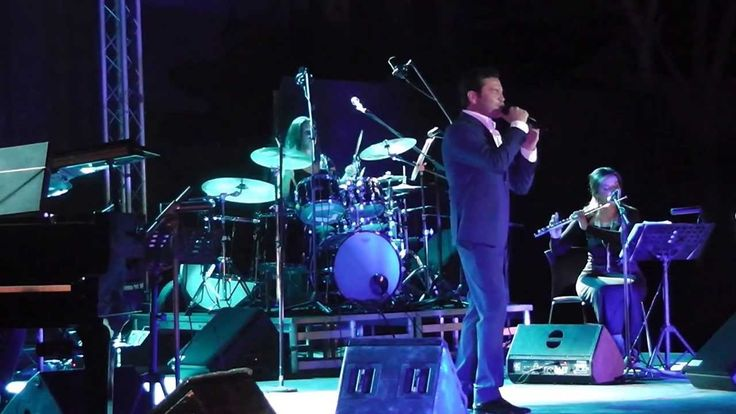 ANY song, is made beautifully new by Mario Frangoulis. Mario Frangoulis-Μάριος Φραγκούλης- A time for us -  Volos, Greece 9/9/2013