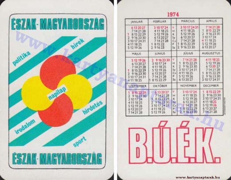 1974 - 1974_0751 - Régi magyar kártyanaptárak