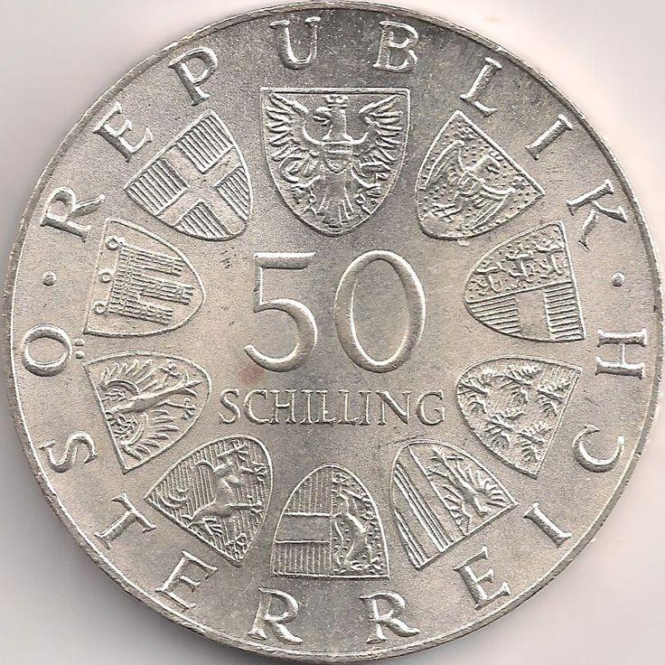 Wertseite: Münze-Europa-Mitteleuropa-Österreich-Schilling-50.00-1974-Gendarmerie