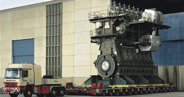 Ο μεγαλύτερος κινητήρας του κόσμου με 109.000 άλογα!