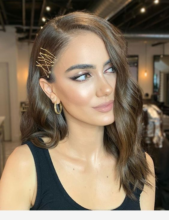 Hair, makeup and style