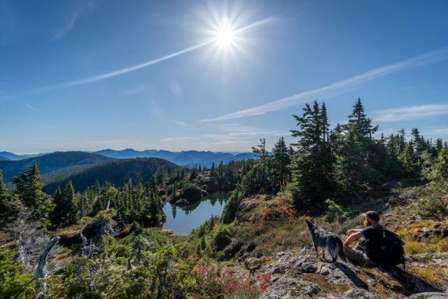 Vancouver Island day hike Minna Ridge Chris Istace