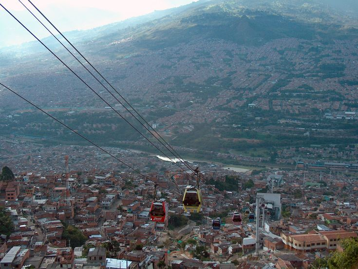 Metro Cable: MEDELLIN, COLOMBIA