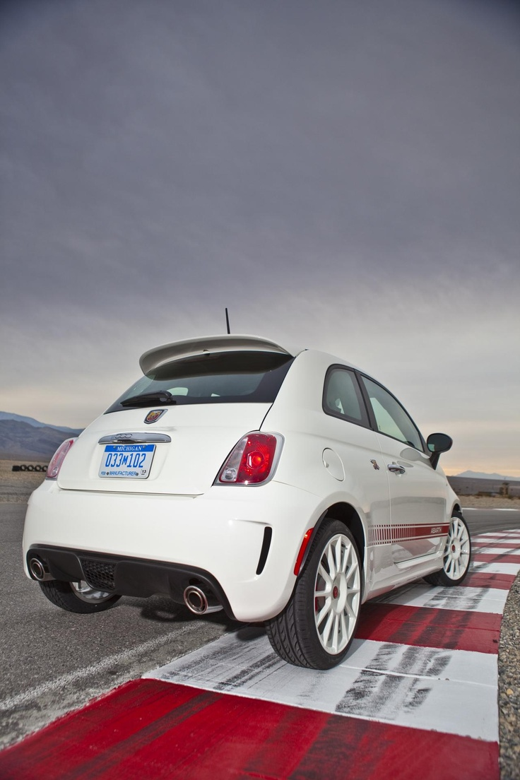 2012 Fiat 500 Abarth...Abarth makes everything better.