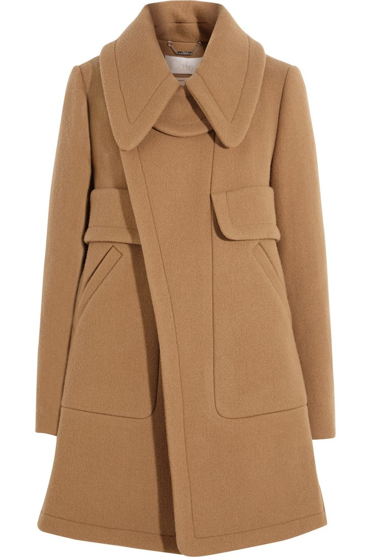 I would move somewhere cold just to wear this Chloe coat