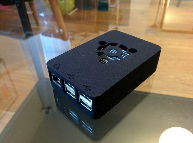 ODROID-C1 UBUNTU BLACK PLASTIC CASE
