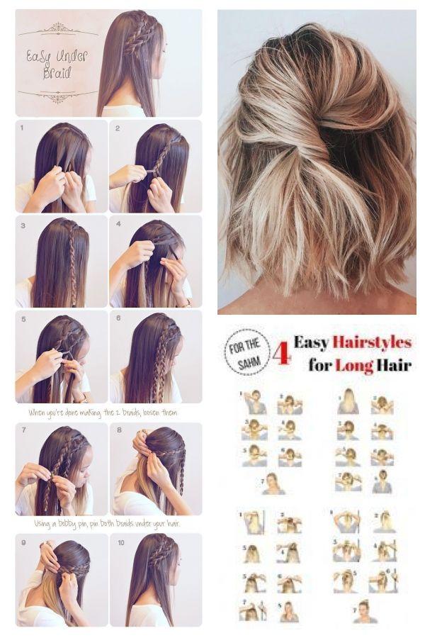 Summer Braid Hairstyle For Summer Summer Long Hair Braids Diy Hair Hair Tutorial Einfachefrisuren Easyh Hair Braid Diy Braids For Long Hair Long Summer Hair