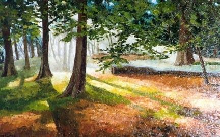 Marilyn Southey - Highgate woods