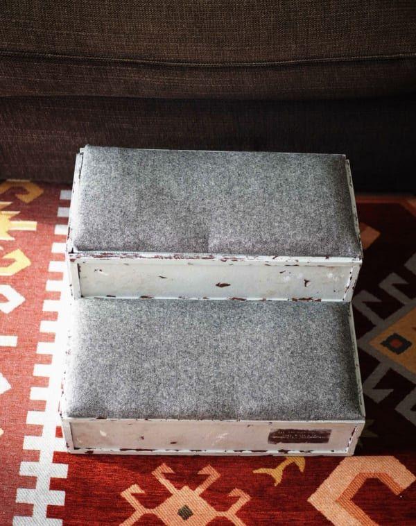 連載 材料はすべて100均 オシャレなペット用ステップを作ろう Folk ドッグステップ ペット ペット用ベッド