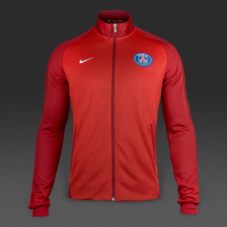 PSG 2016/17 Men Training Jacket-Red