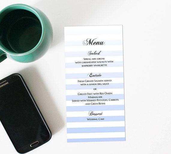 41 best Wedding menu images on Pinterest Menu templates, Place - cocktail menu template free download