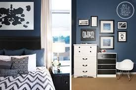 navy blue master bedroom - Google Search