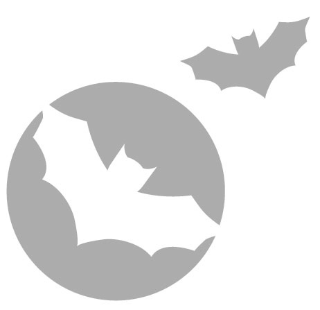 29 best Halloween images on Pinterest Silhouettes, DIY and Cars - bat template