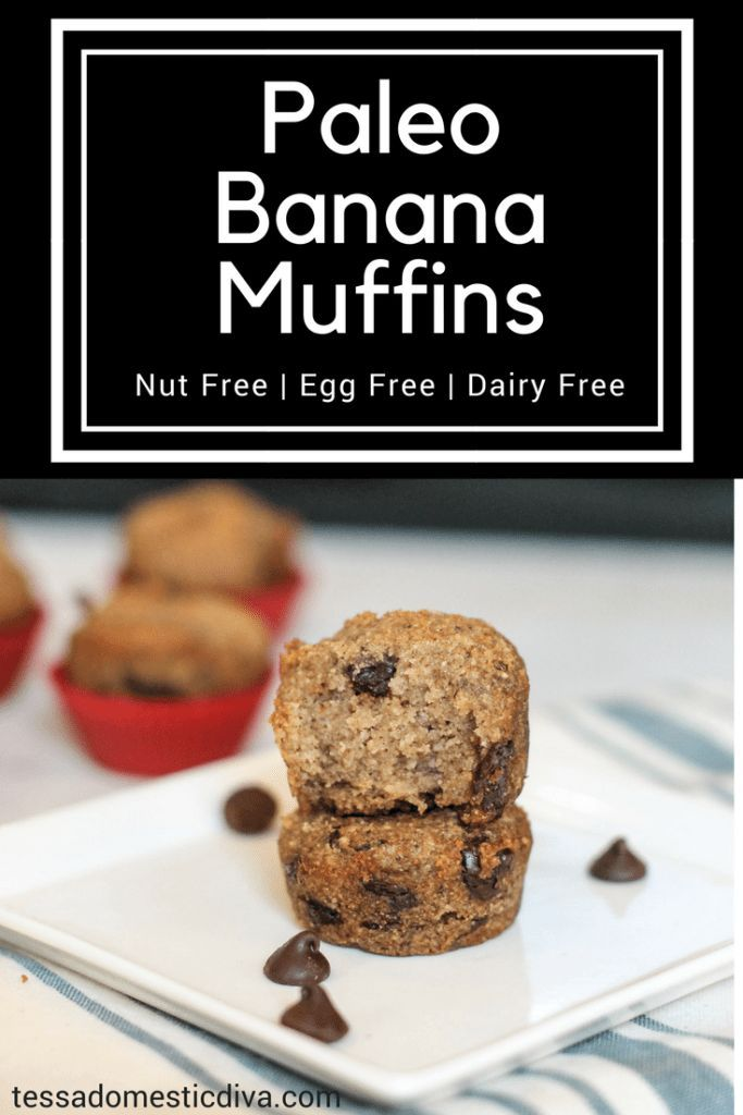 Paleo Banana Bread Egg Nut Free Recipe Paleo Banana Bread