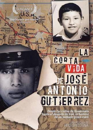 La Corta Vida de Jose Antonio Gutierrez DVD Spanish Language US Marine Guatemala