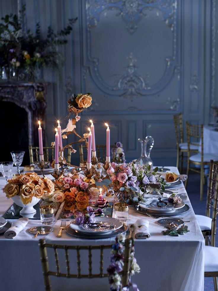 17 meilleures images propos de d co pour repas familial for Recevoir des amis a diner