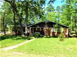 31 Magnolia Cove Dr, Coldspring TX  77331. Waterview home in Cape Royale. Lake Livingston.
