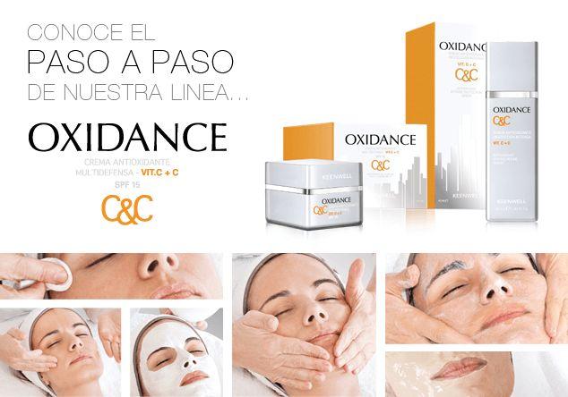 Línea tratamiento facial Oxidance, de Keenwell. En Moon MakeUp te informaremos de sus extraordinarias cualidades para el tratamiento facial.