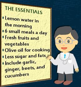 Diet for gallbladder problems