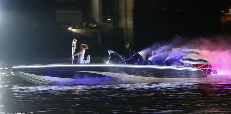 #London 2012 #Olympic Opening Ceremony - #beckham