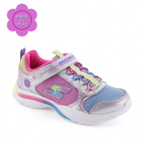 Pantofi sport fete Game Kicks Girl - Skechers